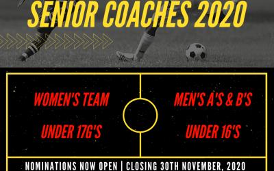 Coaches Application 2020